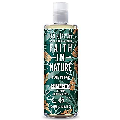 Faith in Nature For Men Shampooing cèdre bleu 400 ml