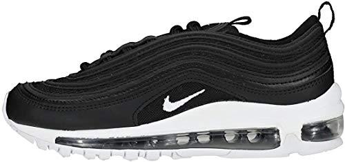 Nike Air Max 97 (GS), Sneakers Basses Homme, Noir (Black/White 001), 40 EU
