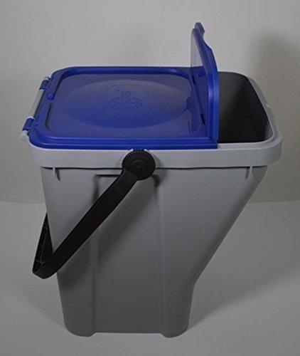 Wasmand met 35 l, blauw