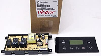 318185348 Wall Oven Control Board Genuine Original Equipment Manufacturer (OEM) Part Black