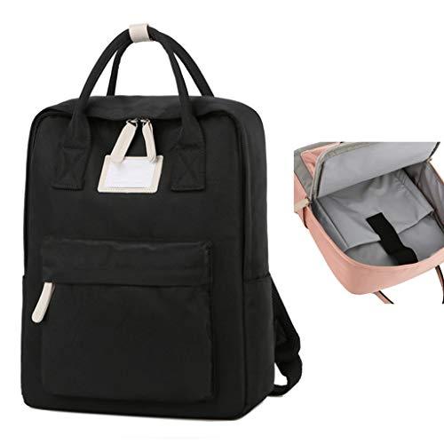 QIAOLI Laptop Bag Zaino Impermeabile Scuola Computer Business Bag Regalo per Uomini e Donne Laptop Zaino Borsa A Tracolla (Colore: Rosa, Dimensioni: 15.6 ')