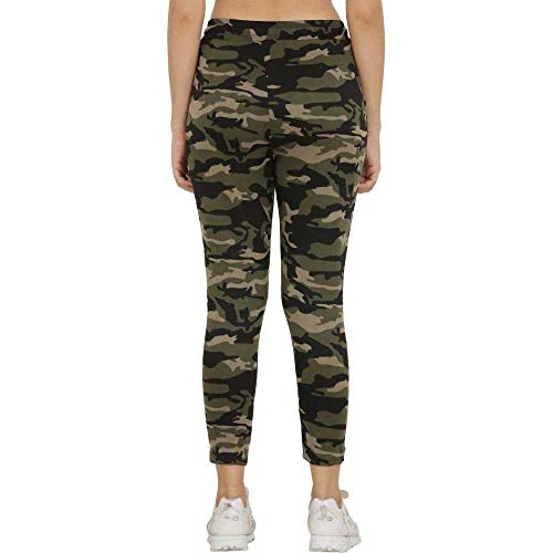 Effigy onlinehub Stretchable Women's Gym wear Leggings Ankle Length Free Size Workout Trousers | Stretchable Striped Jeggings | Yoga Track Pants for Girls & Women Size 26-34 inch Waist (Multi) Sport