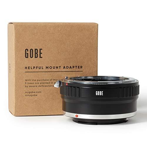 Gobe - Adaptador de Lente Compatible para Lentes Nikon F y cuerpos de cámara Canon EOS M...