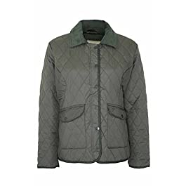 Champion Ladies Womens Country Estate Zipped & Studded Quilted Short Winter Coat Jacket