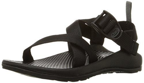 Chaco unisex child Z1 Ecotread Kids Sport Sandal, Black, 6 Big Kid US