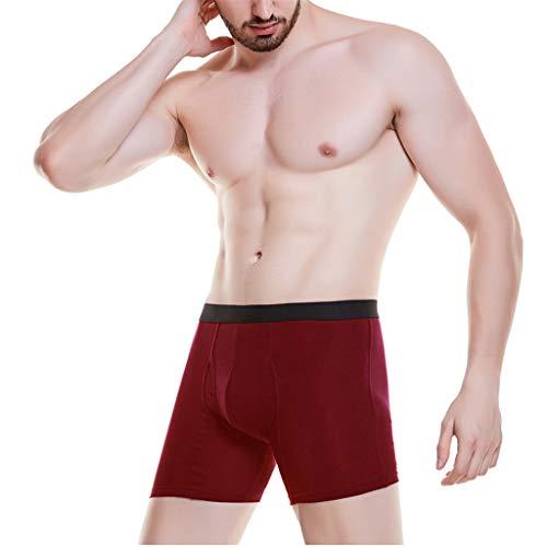 URIBAKY 6er Pack para hombre, ropa interior de algodón, 95 %, más talla Underwear