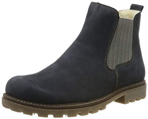 Remonte Damen D7457 Chelsea Boots, Blau (Pazifik 14), 39 EU