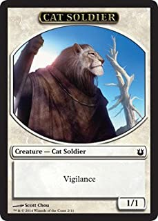 Magic the Gathering - Cat Soldier Token (211) - Born of the Gods