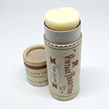 Vintage Tradition Totally Unscented Tube Tallow Balm, 100% Grass-Fed, 1/2 Fl Oz