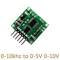 10pcs/lot Frequency To Voltage Module DIY Transmitter electronics Linear Transformation board 0-10Khz to 0-5V 0-10V SC05