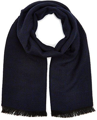 Strellson Premium Herren 11 STSC-Mason 10004141 Schal, Blau (Dark Blue 405), One size
