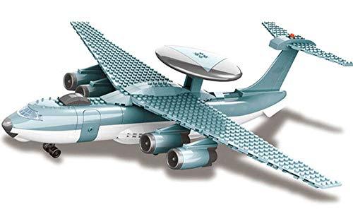 Brigamo Juego de construcción de avión AWACS