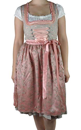 MarJo - Damen Trachten Dirndl, Estella (331658-608807), Größe:42, Farbe:beige/apricot (5218)