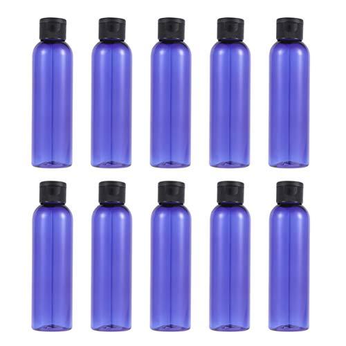 Minkissy 16 Pcs 150 Ml en Plastique Bouteilles de Voyage Lotion Bouteilles Vides Conteneurs de Voyage pour Liquide Crème Shampooing Nettoyage