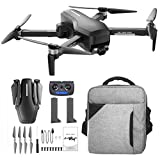 Daily Accessories Drone 5G Wifi FPV Drones with 4K HD Camera 0 110 deg ESC Camera GPS Drones for Adults 3 Axis Anti Shake Gimbal Brushless Motor Compatible VR Glasses 2 Battery