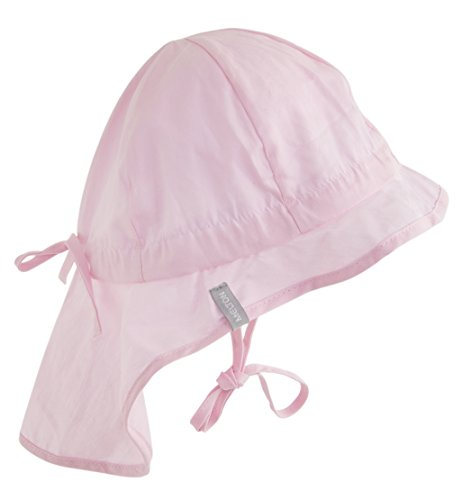 Melton Baby-Mädchen 510001 Sonnenhut, Rosa (Baby pink 504), 62 (Herstellergröße: 47)