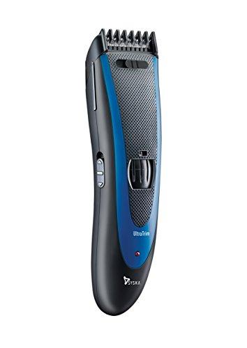 Syska HT1309 Hair and Beard Trimmer (Black/Blue)