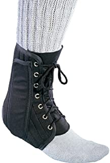 canvas ankle support