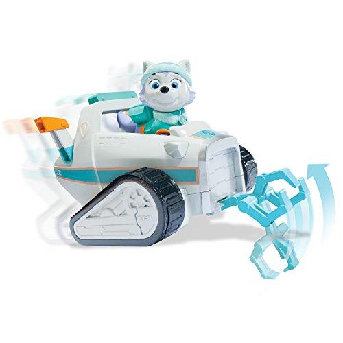 Paw Patrol - Everest vehículo de Rescate para Nieve con Figura (Spin Master 6027649)