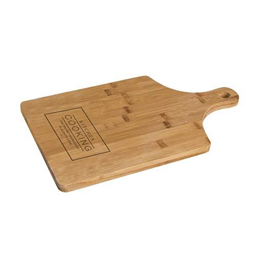 Home Gadgets Tabla de cortar Essential de bambú, marrón, 40 cm