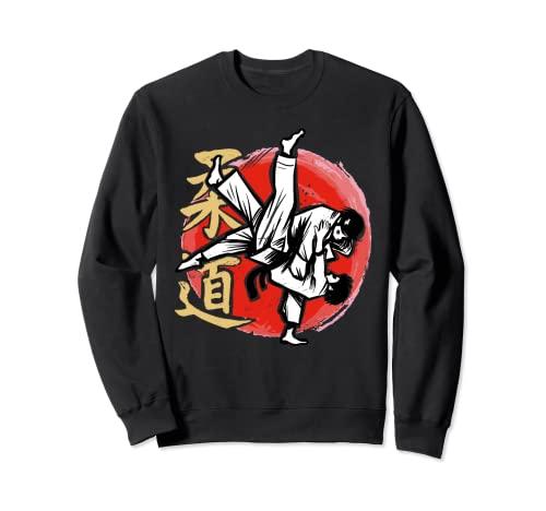 Judo Judoka Kampfkunst Sweatshirt