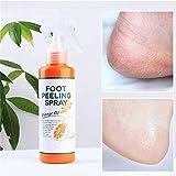 Instant Foot Peeling Spray Natürliche Orangenessenz Pediküre Hände Tote Haut, Beauty Pro Fuß-...