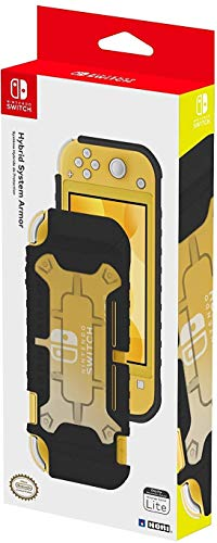 HORI - Carcasa híbrida negra (Nintendo Switch Lite)