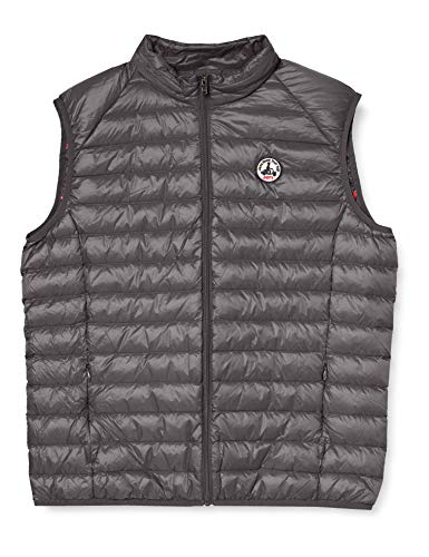 JOTT TOM Down jacket vest, Gris, Small para Hombre