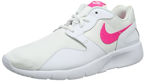 Nike Unisex-Kinder Kaishi (GS) Low-Top, Weiß (106 White/Hyper Pink), 38.5 EU