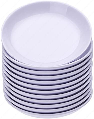 Round Melamine Soy Dipping Sauce Dishes Set Of 12 Dishes 3 1 2 Inches Diameter X 5 8 Inches High 1 5 Ounces Side Dishes Amazon Com