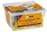 Minioliva Aceite de Oliva Virgen Extra Aromatizado al Limón - Paquete de 50 x 14 ml - Total: 700 ml