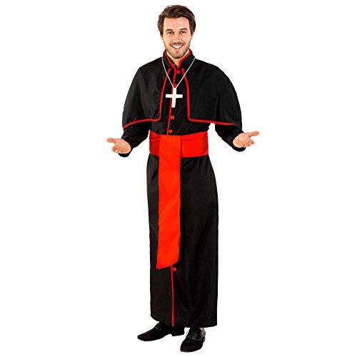 TecTake dressforfun Disfraz para Hombre de Cardenal Giovanni (L | no. 300406)