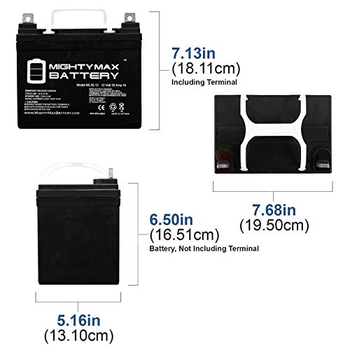 Mighty Max Battery Size