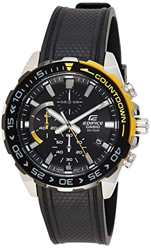 Casio Analog Black Dial Men's Watch-EFR-566PB-1AVUDF (ED480)