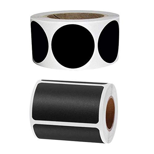 Bonarty 420 Hojas Adhesivas para Pizarra Adhesivo para Contenedores Despensa para Contenedores