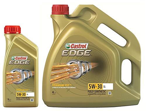 Castrol EDGE TITANIUM 5W-30 LL FST Synthetische motorolie, 5 liter