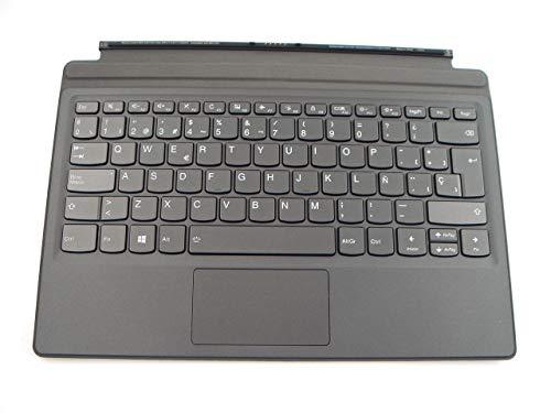 Genuine Parts for Lenovo Miix 520-12IKB Tablet Folio Case Docking Station Backlit Keyboard Spanish Layout 5N20N88605