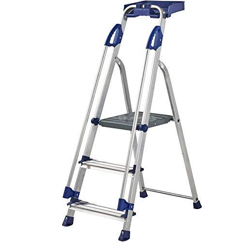 Werner Escalera de aluminio para estación de trabajo serie 705 (3 pasos)