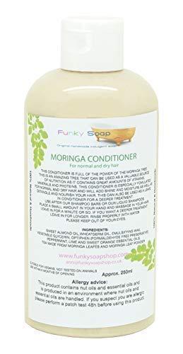 Moringa Après-shampooing pour Normal et Cheveux Sec, 1 Flacon de 250ml