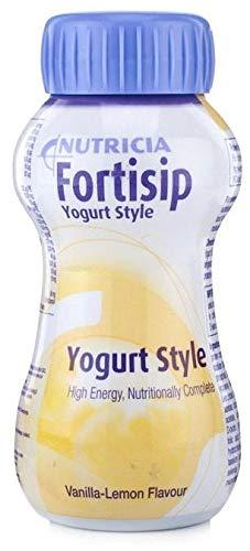 24 x Fortisip High Energy Milkshake Supplement 200ml Bottle (Vanilla Lemon)