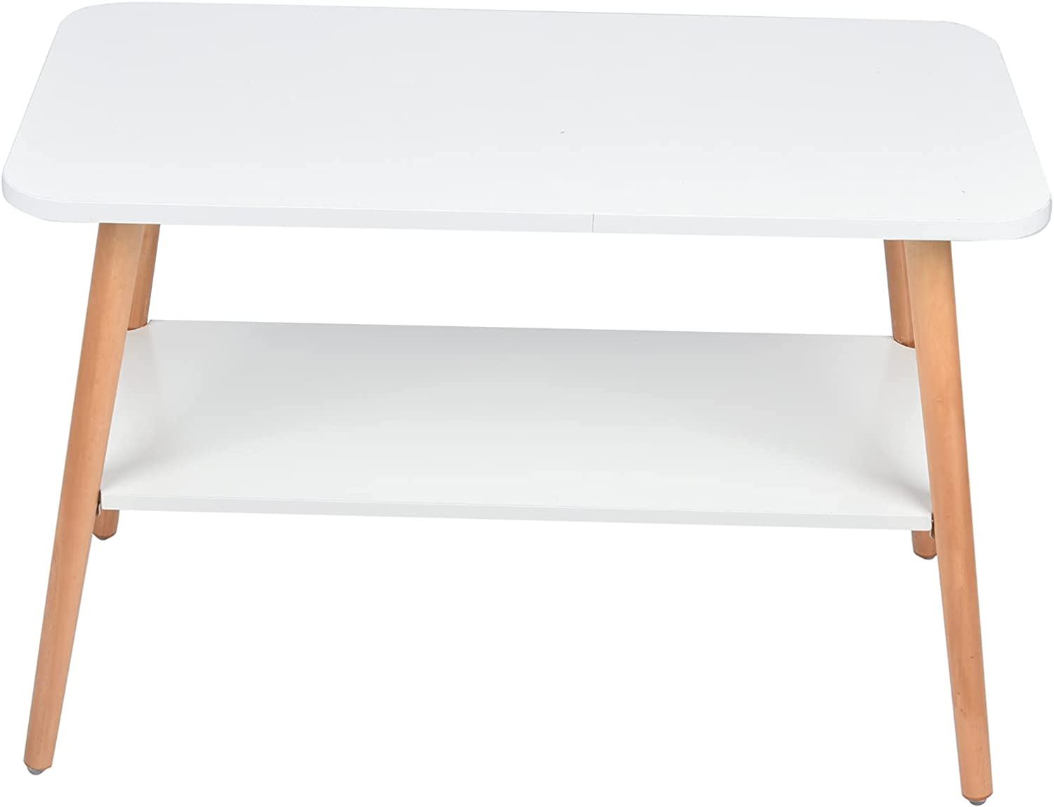 Coffee Table Max 47% OFF End OFFicial Smooth for Surface Study Wood