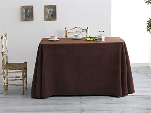 Sanz Marti - Falda Mesa Camilla Invierno Rectangular 70x120 - Marron