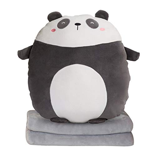 jieGorge Cushion Blanket Pillow Multi-function Blankets Cartoon Animal Plush Toys, Plush, Toys and Hobbies for Easter Day (F)