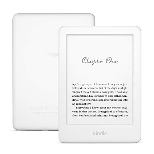 Kindle, Certified Refurbished, White — with built-in front light
