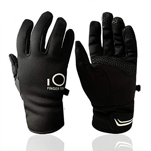 FINGER TEN - Radsport-Handschuhe für Mädchen in schwarz, Größe S(17-19CM)