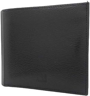 Dunhill(ダンヒル) 二つ折り財布 コンパクト財布 2つ折り財布 ウォレット カーフ ブラック黒 シルバー金具 WG3000A メンズ 40800025580【中古】【アラモード】