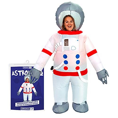 Disfraz inflable de astronauta | Disfraz inflable | Calidad Premium | Tamao adulto | Polister | Cmodo | Resistente | Sistema de inflado incluido | Creado por OriginalCup