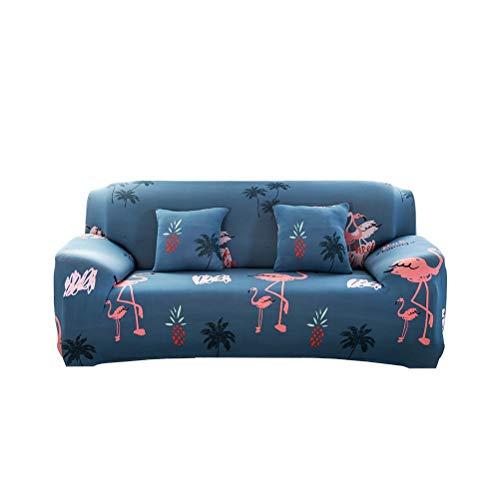 Ourine Fundas de sofá de 3 plazas, fundas de sofá de 3 plazas, fundas protectoras para sofá con estampado de unicornio, funda antideslizante de poliéster elástico, varios colores