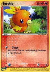 Pokemon - Torchic (74) - EX Ruby and Sapphire