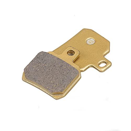 piaopiao Pinzas de Freno de la Motocicleta Repuestos Pastillas de Freno Conjunto de Scooter Ajustar para Alto Rendimiento Adelin ADL-17 ADL-21 Repuestos (Color : 1 Pair Pads)